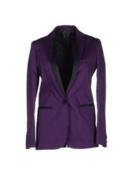 Karl By Karl Lagerfeld Suits And Jackets Blazers Women Purple
