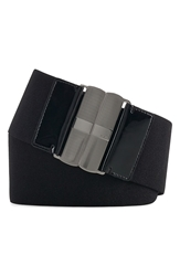 Lauren Ralph Lauren Wide Elastic Belt Black
