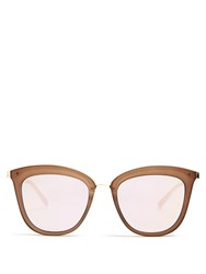 Le Specs Calientie Cat Eye Sunglasses Brown