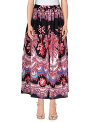 Msgm Skirts Long Skirts Women Pink
