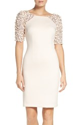 Adrianna Papell Women's St. Arcadia Beaded Cocktail Dress