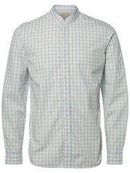 Selected Homme Jacque Long Sleeve Check Shirt Forever Blue