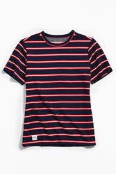 Native Youth Olio Stripe Tee Blue Multi
