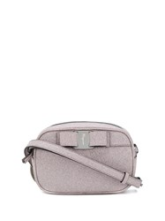 Salvatore Ferragamo Bow Front Cross Body Bag Pink