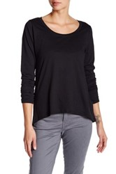 Joe's Jeans Letty Cross Back Tee Black