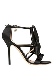 Dsquared 120Mm Satin Bow Sandals