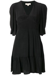 Michael Michael Kors Flared Short Dress Black