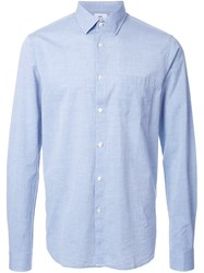 Hope 'Roy Pocket' Shirt Blue