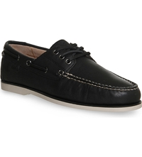 Ralph Lauren Bienne Ii Boat Shoes Black