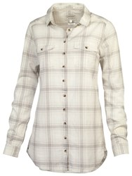 Fat Face Boyfriend Fine Check Shirt Oat