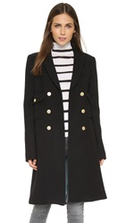 Smythe Pyramid Coat Black