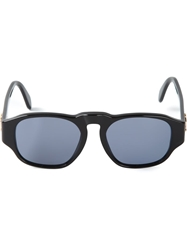 Chanel Vintage Round Cc Sunglasses Black