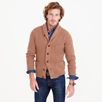 J.Crew Lambswool Three Pocket Cardigan Sweater