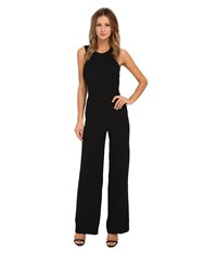 Sam Edelman Angelina Halter Jumpsuit Black Women's Jumpsuit And Rompers One Piece