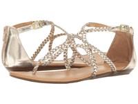 Report Laina Gold Synthetic Women's Sandals