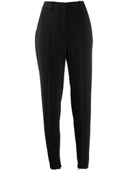 Barbara Bui High Rise Skinny Trousers Black