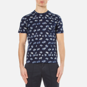 Ymc Men's Wild Ones Pocket T Shirt Navy Blue