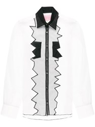 Viktor And Rolf Soft Tulle Motif Shirt White