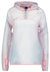 Skins Plus Nustar Sports Jacket Clear White