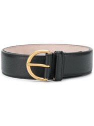 Gucci Bee Plaque Belt Black
