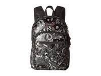 Sakroots Artist Circle Mini Backpack Metallic Songbird Backpack Bags Black