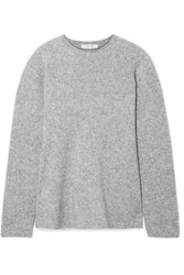 The Row Sabel Cashmere Blend Sweater Gray