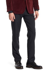 Kenneth Cole Reaction Performance Twill Techni Slim Fit Pants 29 34 Inseam Black