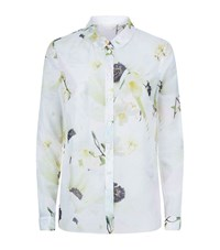 Ted Baker Graci Pearly Petals Shirt Female Light Pink