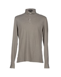 Orian Topwear Polo Shirts Men Grey