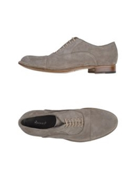 Rocco P. Lace Up Shoes Dove Grey