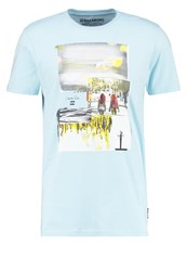 Billabong Vacation Tailored Fit Print Tshirt Coastal Blue