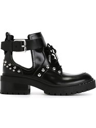Kenzo Cut Out Boots Black