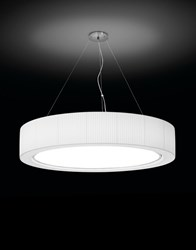 Bover Urban 37 Pendant White Red Beige