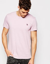 Jack Wills Sandleford T Shirt With Pheasant Logo Lavender