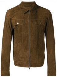 Desa 1972 Collared Jacket Brown
