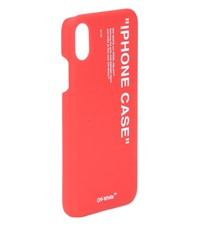 Off White Iphone X Case Red