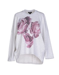 Giambattista Valli Sweatshirts Light Grey