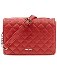 Nine West Hold The Key Small Crossbody Ruby Red