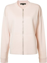 Alexander Wang Lightweight Bomber Jacket Pink Purple
