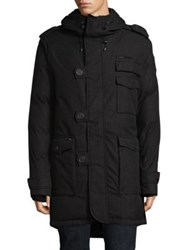 Nobis Fishtail Down Filled Jacket Heather Black