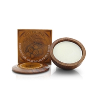 Geo F Trumper Coconut Oil Shaving Soap Bowl