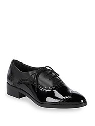 Saks Fifth Avenue Brody Leather Lace Up Brogues Black
