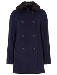 Sugarhill Boutique Becky Coat Navy