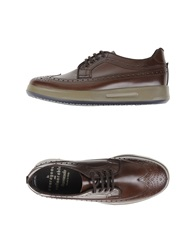 Barracuda Lace Up Shoes Dark Brown