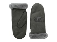 Ugg Heritage Logo Mitten Grey Multi Extreme Cold Weather Gloves Gray