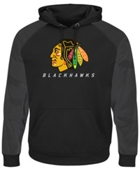 Majestic Men's Chicago Blackhawks Penalty Shot Synthetic Hoodie