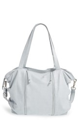 Day And Mood 'Daffodil' Leather Tote Blue Light Blue