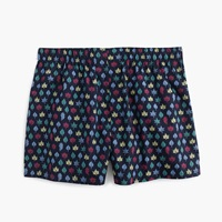 J.Crew Fall Leaves Boxers Classic Navy