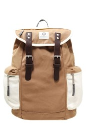 Ridgebake Liam Backpack Camel Off White Brown