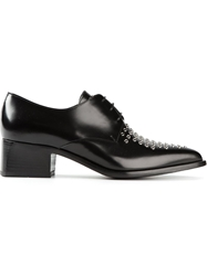 Ermanno Scervino Studded Lace Up Shoes Black